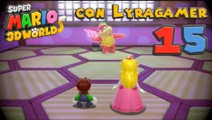 Super Mario 3D World #15 - Mundo Bowser-1, 2, 3, Tren y 4