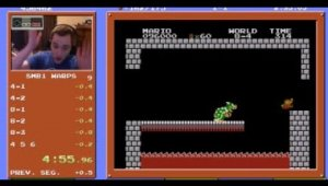 Super Mario Bros. Speedrun en 4:55.913 Record Mundial