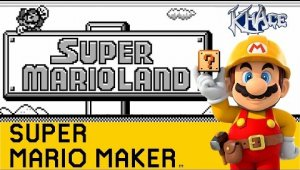 Super Mario Land Remade in Super Mario Maker
