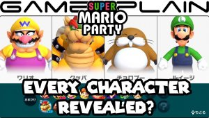 Super Mario Party - Personajes