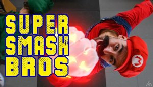 SUPER SMASH BROS - Combates en la vida real