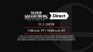 Super Smash Bros. Ultimate Direct  + Nintendo Treehouse: Live Presentation