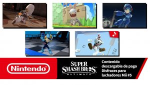 Super Smash Bros. Ultimate – Disfraces para luchadores Mii #5  (Nintendo Switch)