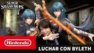 Super Smash Bros. Ultimate – Luchar con Byleth