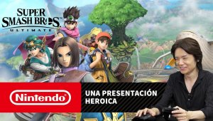 Super Smash Bros. Ultimate – Una presentación heroica (Nintendo Switch)