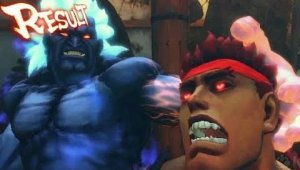 Super Street Fighter IV Arcade Edition - Oni vs Evil Ryu Traile
