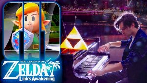 Tal Tal Heights Remake Cinematic Piano Cover- Most Epic Zelda Song?