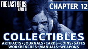 The Last of Us 2; Coleccionables del Canal 13