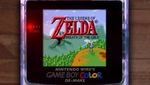 The Legend of Zelda: Breath of the Wild - Así sería en Game Boy Color