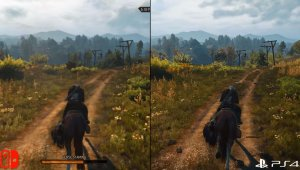 The Witcher 3 para Switch es comparado con el de PS4