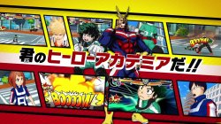 Tráiler de My Hero Academia: Battle for All para 3DS