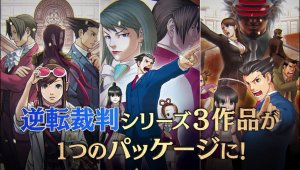Trailer de Phoenix Wright: Ace Attorney Trilogy TGS