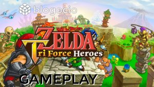 The Legend of Zelda Tri Force Heroes - Gameplay comentado modo un jugador