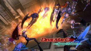 Trish de Devil May Cry 4 Special Edition muestra sus habilidades en combate