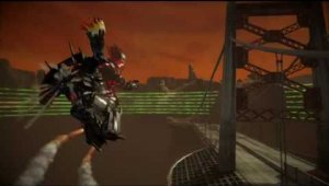 Twisted Metal Pelea contra un Mecha