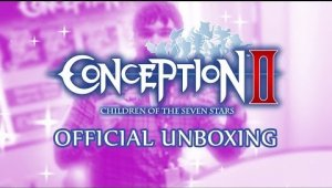 Unboxing de la edición coleccionista de Conception II: Children of the Seven Stars
