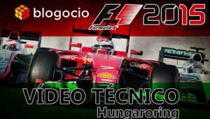 Vídeo técnico Hungaroring - F1 2015