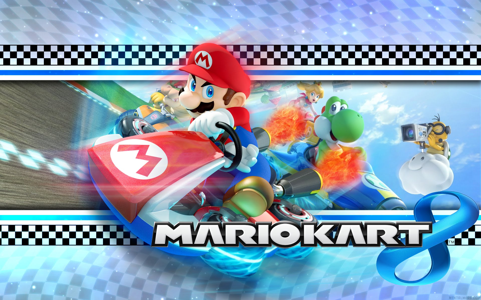 final del torneo de mario kart 8 de blogonavidades video de mario kart 8 vd36498 juegosadn. Black Bedroom Furniture Sets. Home Design Ideas