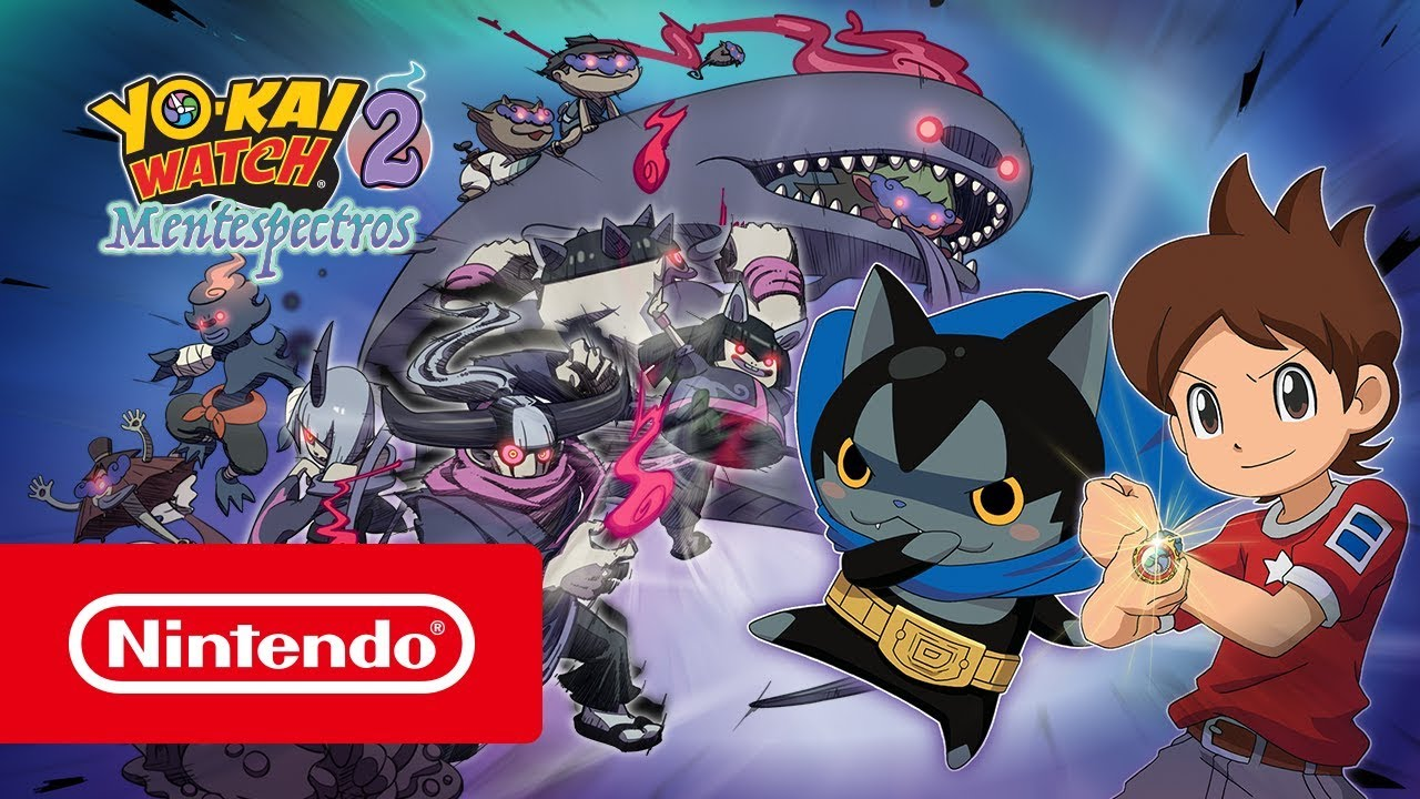 Juegos Japoneses Imprescindibles Para 3ds En 2017 Yo Kai Watch 2