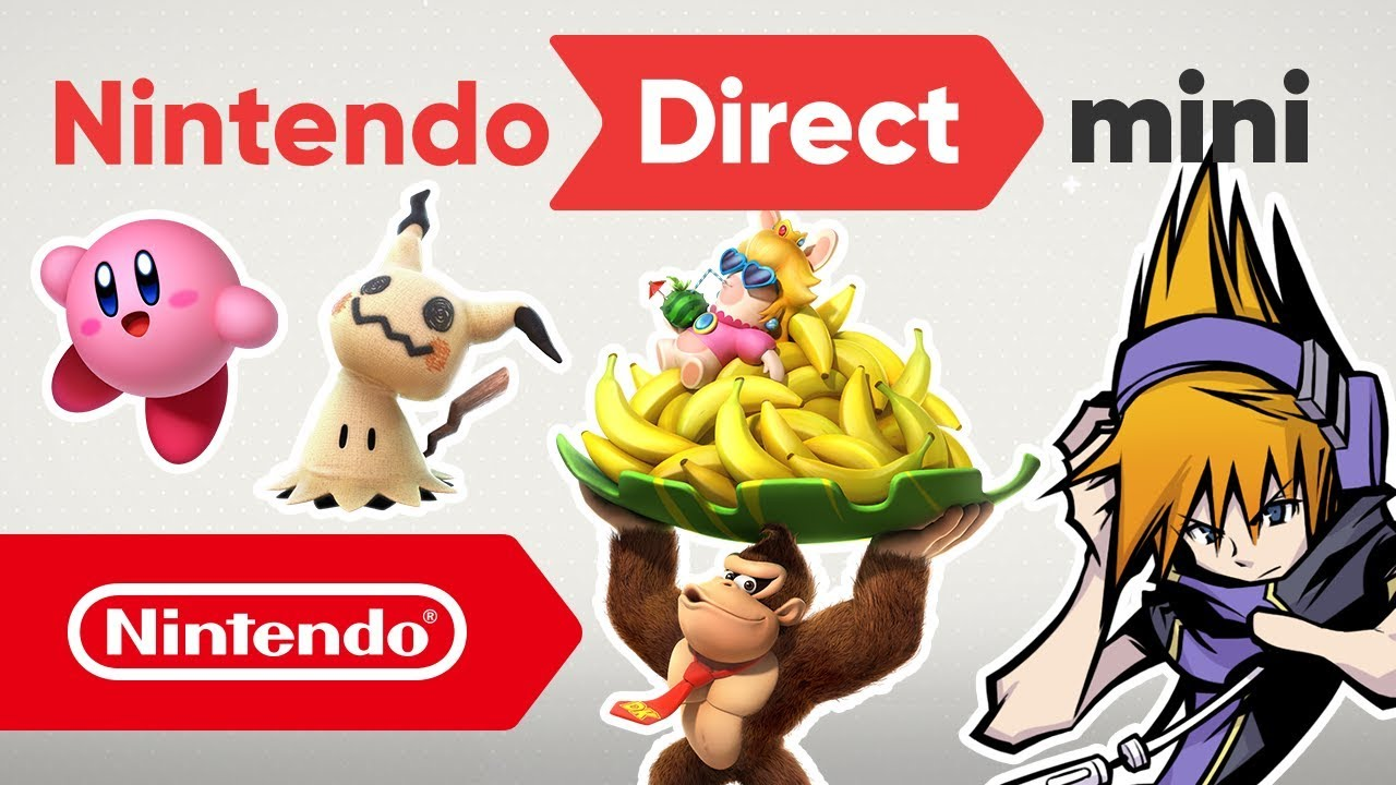 Nintendo Direct Mini: Resumen Novedades 2018 para Nintendo Switch