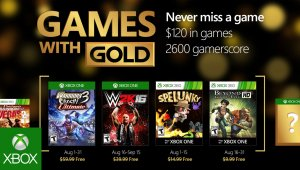 Xbox Games With Gold de agosto