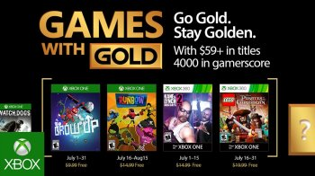 Xbox - Games with Gold de julio 2017