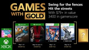 Xbox - Games with Gold Mayo 2018