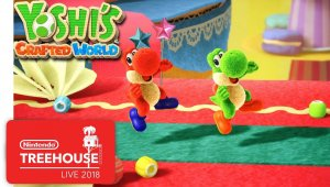 Yoshi's Crafted World - Gameplay en Nintendo Treehouse