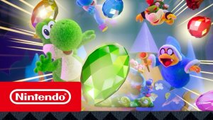 Yoshi's Crafted World - Tráiler de lanzamiento (Nintendo Switch)