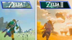 Zelda: Breath of the Wild 2 | Early Graphics Comparison & Other Details