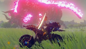Zelda: Breath of the Wild; vencen a Ganon usando la moto Hyliana Alfa