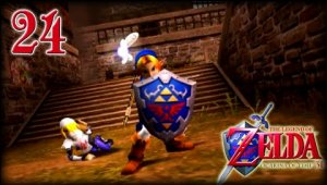Zelda Ocarina of Time 3D - Cap.24 El pozo de lo invisible