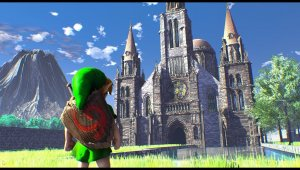 Zelda Ocarina Of Time - Ciudadela en Unreal Engine 4